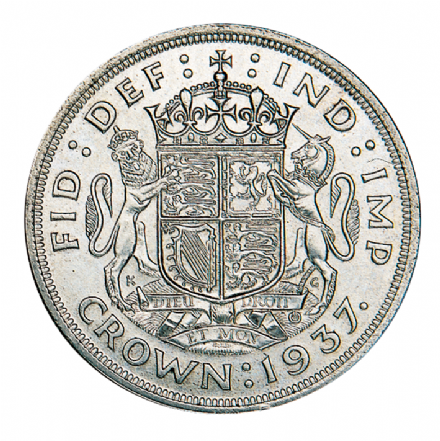 George VI 1937 Silver Crown